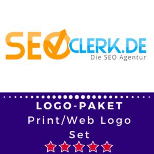 Web- und Printlogo Set.